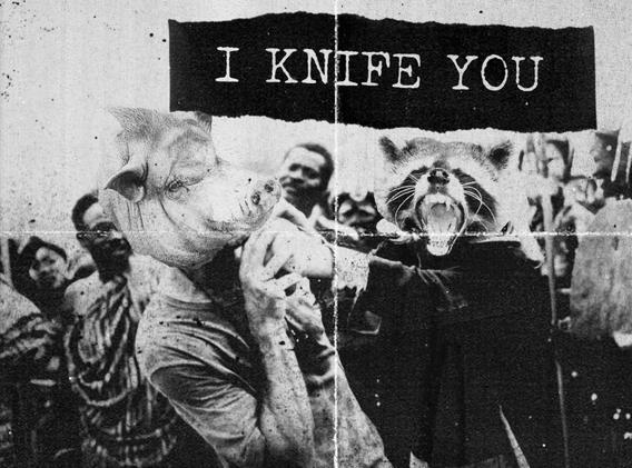I knife you 1