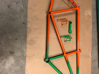 My First Bicycle Frame