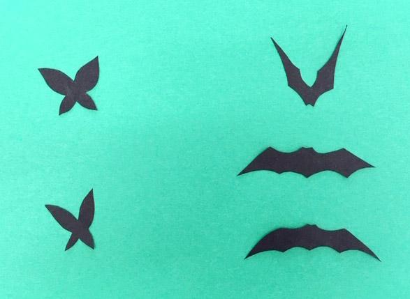 コウモリ、蝶