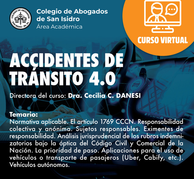 Accidentes de tránsito 4.0