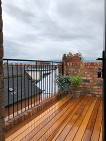 Belfast Roof Top terrace