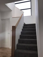 staircase fitted as part of full property renovation