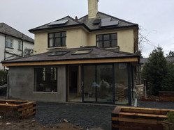 lovely spacious extension on a belfast project