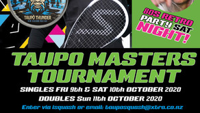 Masters Singles & Doubles... & 80s Party!