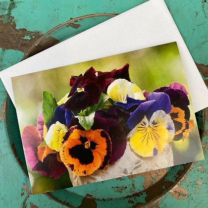Geschenkkarte Viola; 18x12cm