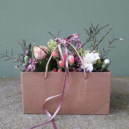 Eine Tasche voll Blüten! L20cmxB12cmxH20cm; cirka