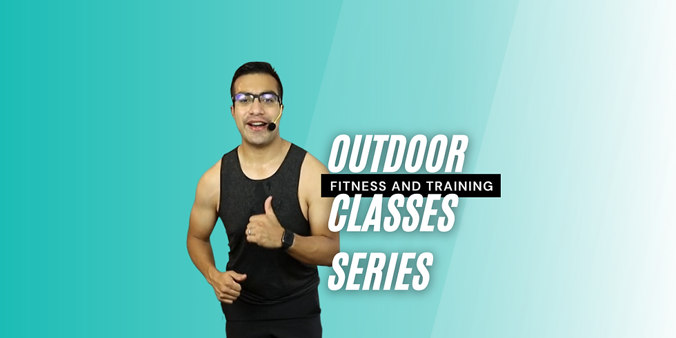 Power Rush Fitness - Outdoors 4/24/21