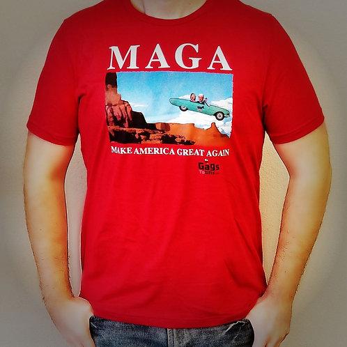 T Shirt- MAGA CLINTONS