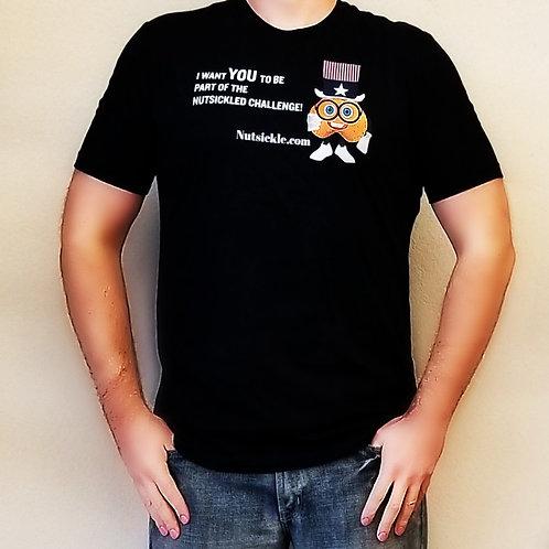T Shirt- Nutsickled Challenge