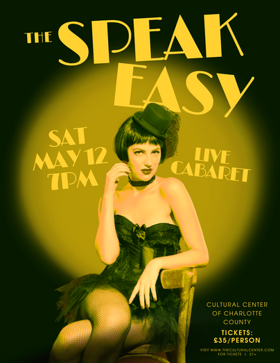 The Speak Easy Event Flyer