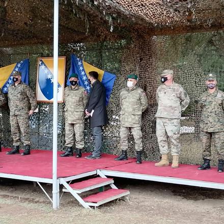 Oružane snage BIH jače za 135 vojnika