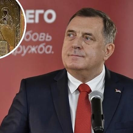 Dodik optužio ukrajinskog ministra da laže: Dostavite dokaze da je ikona vaša i kako je ukradena