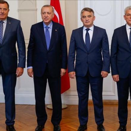 Recep Tayyip Erdogan pozvao članove Predsjedništva BiH da dođu u posjetu