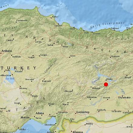 Snažan zemljotres pogodio istok Turske
