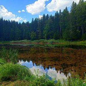 Turistička razglednica Paučko jezero