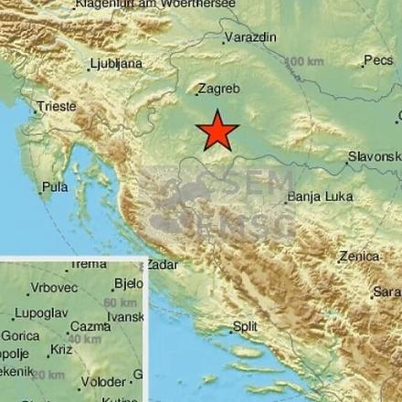 Novi snažan zemljotres jačine 5,3 stepena pogodio Hrvatsku, epicentar ponovo kod Petrinje