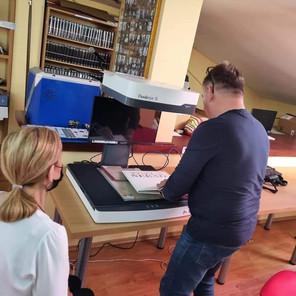 """Narodna i univerzitetska biblioteka """"Derviš Sušić"""" Tuzla nabavila je skener za digitalizaciju knjiga"""