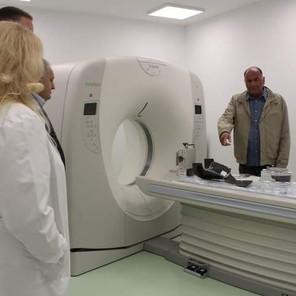 U Domu zdravlja Živinice je po prvi put nabavljen i instaliran 16 – slajsni CT aparat