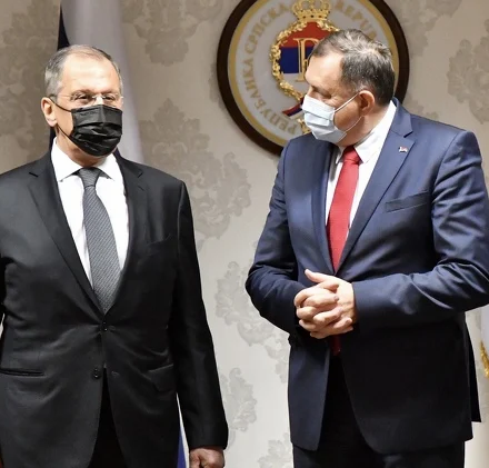Sergej Lavrov stigao u Istočno Sarajevo na sastanak sa Miloradom Dodikom