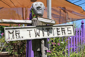 Mr. Twitters Sign