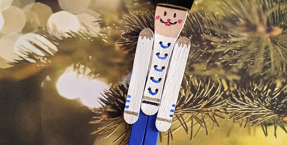 Wooden Spoon Toy Soldier / Nutcracker Holiday Ornament Home Decor