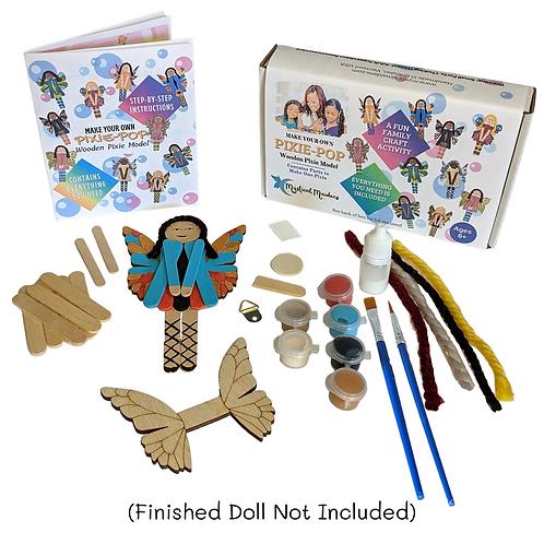 Pixie Pop Princess Charlotte, DIY Fantasy Themed Craft Kit