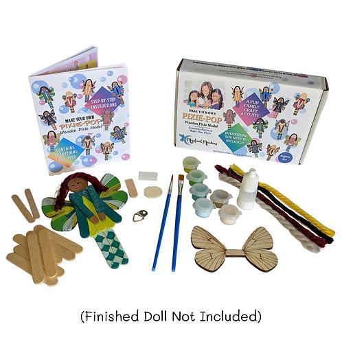 Pixie Pop Princess Mia, DIY Fantasy Themed Craft Kit