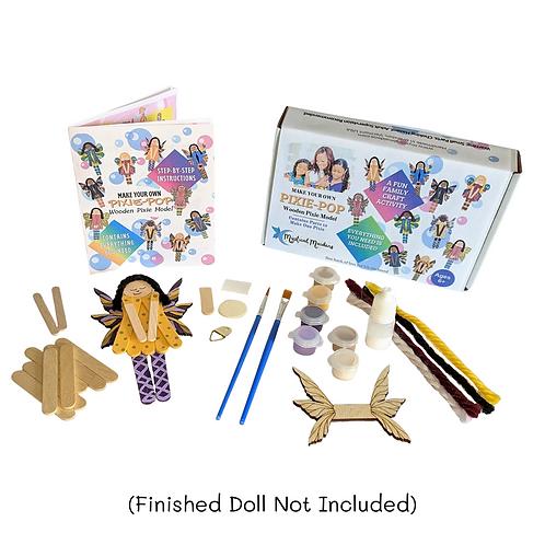 Pixie Pop Princess Grace, DIY Fantasy Themed Craft Kit