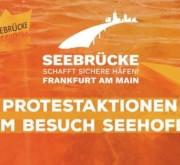 Seebrücke statt Seehofer! Stoppt das Sterben im Mittelmeer!