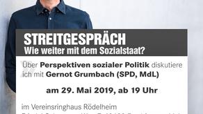 Veranstaltungshinweis:  Streitgespräch zwischen Achim Kessler (DIE LINKE) und Gernot Grumbach (SPD)