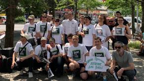 """Rede Dr. Achim Kessler, Drogenaktionstag """"Support, don't punish!"""", Kottbusser Tor, 26.06.2019 Berlin"""