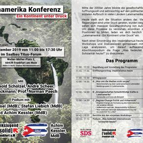 """Konferenz zu Lateinamerika – """"Ein Kontinent unter Druck"""""""