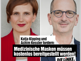 Kipping und Kessler zur Preisentwicklung bei med. Masken