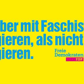 FDP, CDU und AfD Hand in Hand in Thüringen