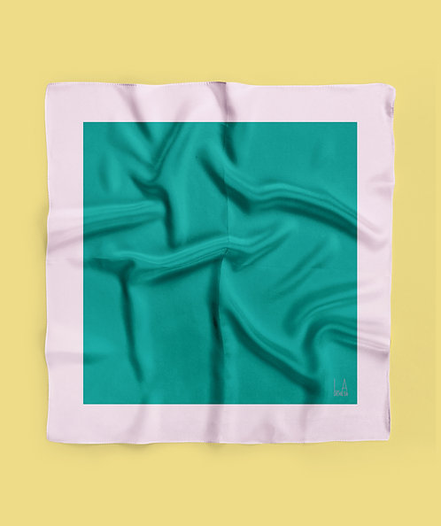 Lenço Seda Colors Green