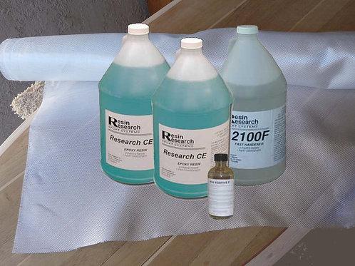 SUP 3 Gallon Glassing Kit