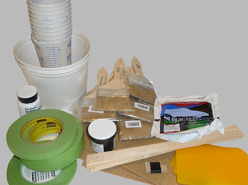 Glassing Tools & Supplies Kit