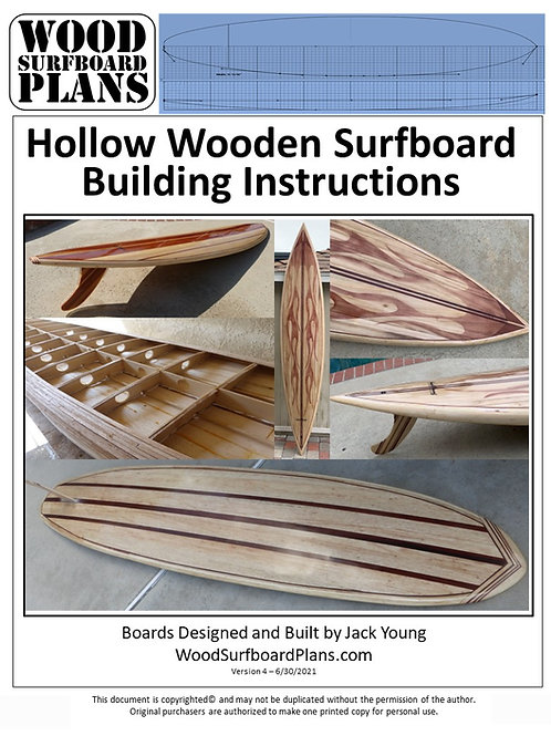 Hollow Wood Surfboard Assembly Manual