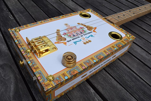 """Cigar Box Guitar """"SanMiguel"""""""