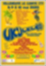 Affiche Ukulele festival Vileneuve Le Co
