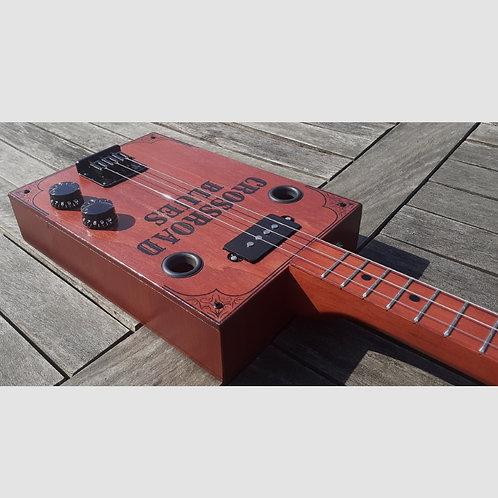 """Cigar Box Guitar """"Crossroad Blues"""""""