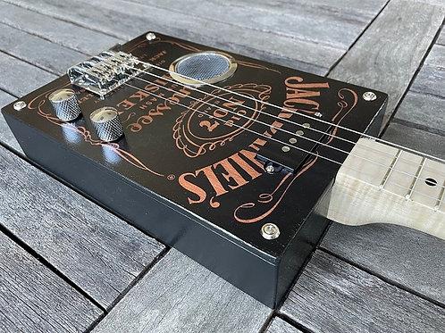 """Box Guitar """" Jack Daniels Tribute  """""""
