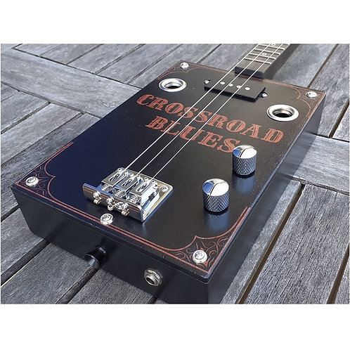 "Box Guitar "" Crossroad blues "" Black"