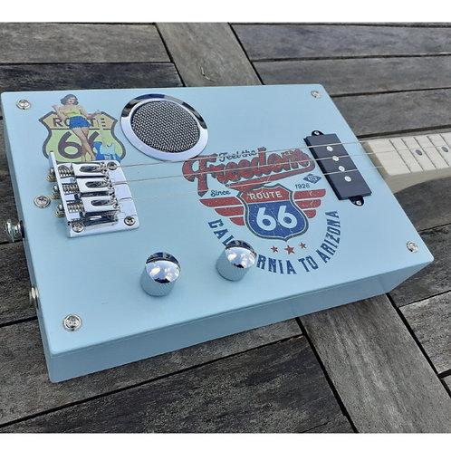 "Box Guitar "" Route 66 """