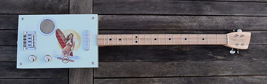 cigarbox guitar de qualité premium