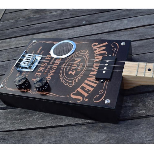 "Box Guitar "" Jack Daniels Tribute  """