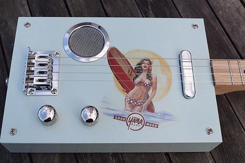 "Box Guitar ""Surfing Tribute"""