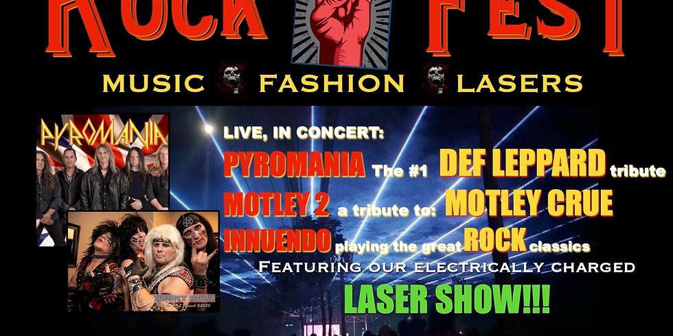 ROCKFEST! Music, Lasers & Fashion