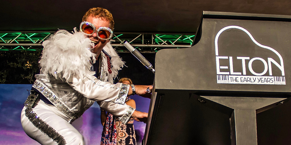 An intimate evening with Kenny Metcalf as: ELTON JOHN Tribute