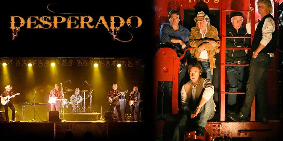 DESPERADO (EAGLES tribute) live in concert!  Please note: Longshadow has a 2 DRINK MINIMUM on special events (1)